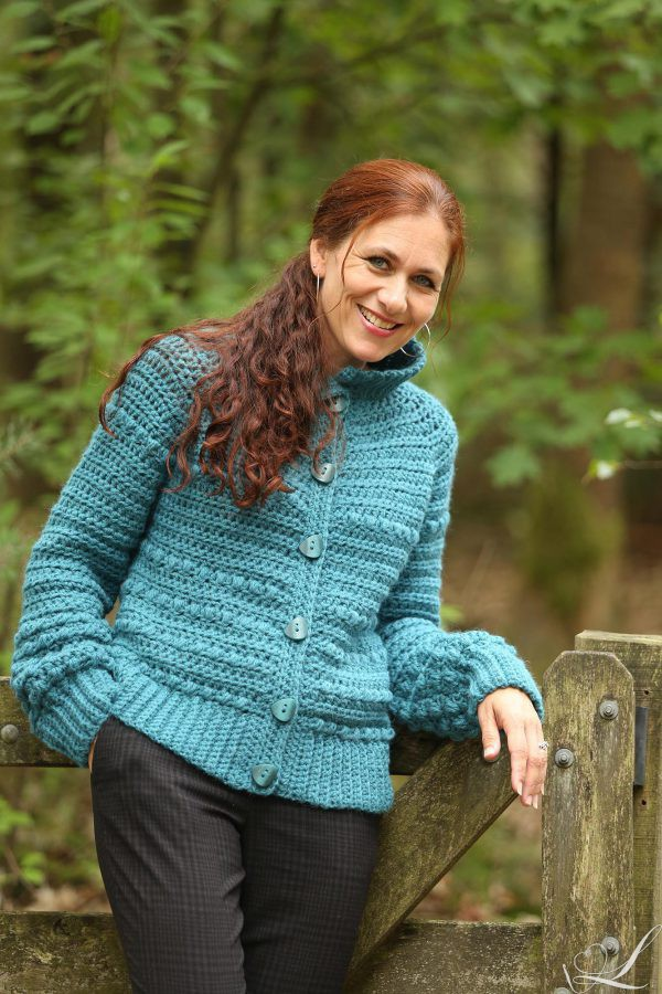 Chunky Vest Linda Modderman Design Haakpatroon Haken Kleding