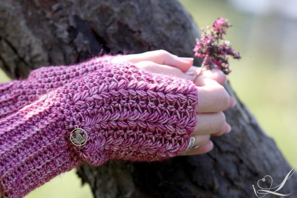 Heather Mittens Handschoenen Linda Modderman Design Haakpatroon Haken