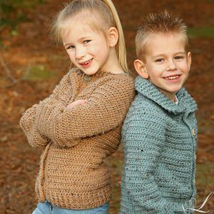 Linda Modderman Design Haakpatroon Kindervest Jongen Meisje Kinderkleding Haken