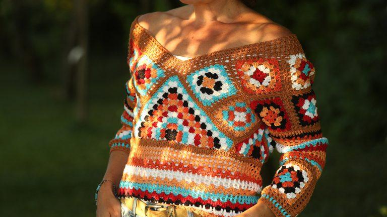 Ibiza Style Trui Haakpatroon van Linda Modderman