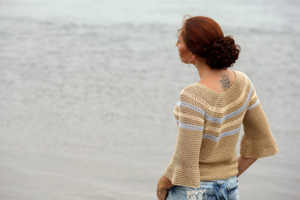 Linda Modderman Haakpatroon Sandy Beach Sweater