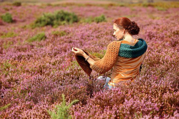 Autumn Color Shawl Herfst Sjaal Linda Modderman Design Haakpatroon