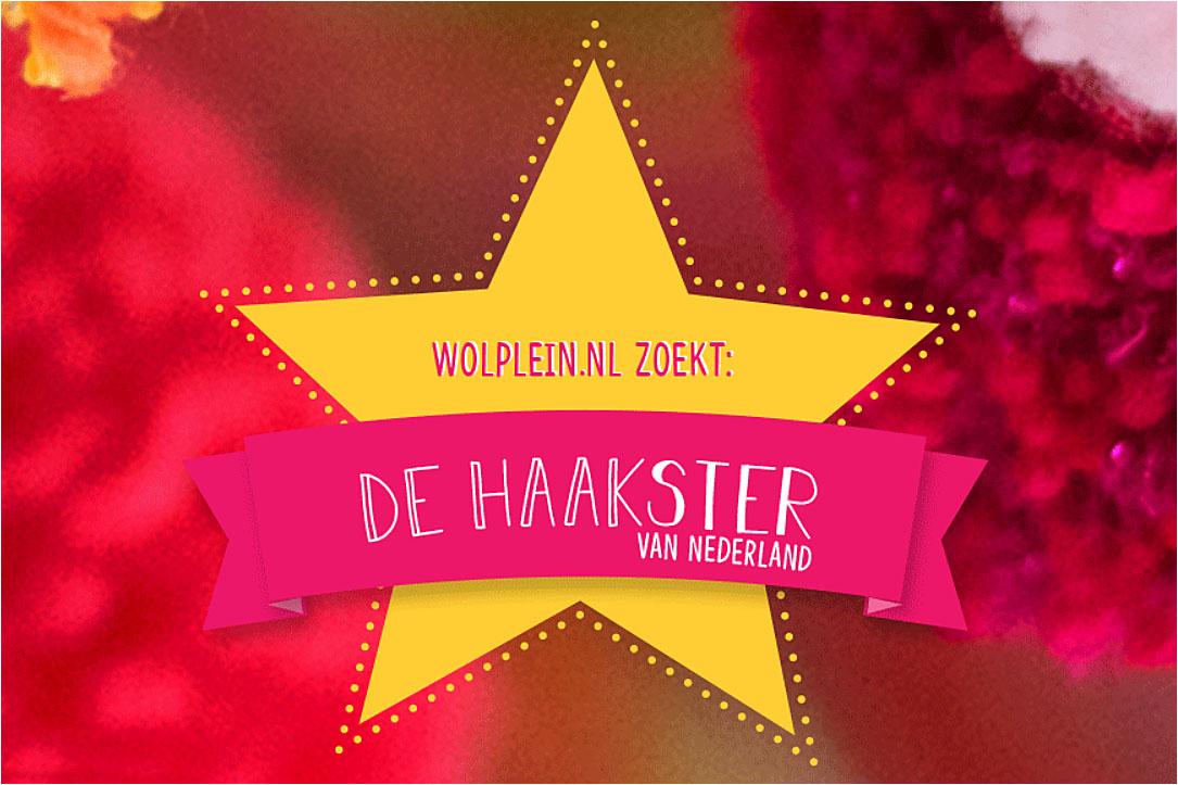 Haakster van Nederland Haakwedstrijd Winnaar Winnares Linda Modderman