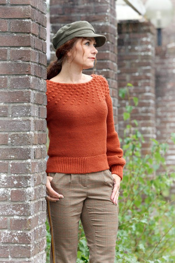 Indian Summer Sweater Linda Modderman Design Haakpatroon