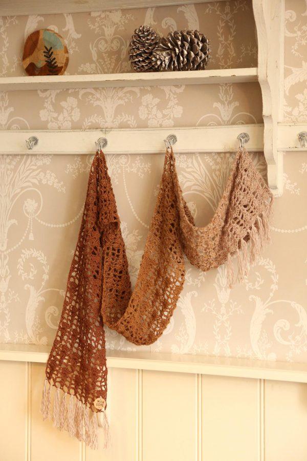 Keep Blooming Shawl Gratis Haakpatroon Linda Modderman Design Haken Patroon Sjaal